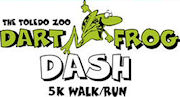 The 2008 Dart Frog Dash 5K in Toledo Ohio.