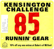 The Kensington Challenge Road Race.