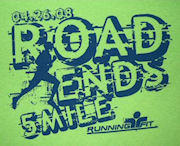 The 2008 Road End 5 Mile Trail Run.