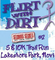 The 2008 Running Fit Flirt with Dirt trail run.