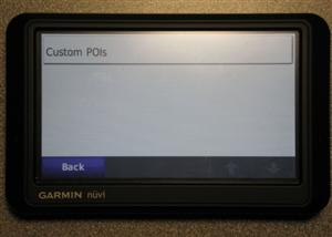 Uploading a custom POI file to a Garmin.GPS.