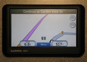 Uploading a custom POI file to a<br /> Garmin.GPS.