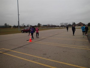 Park Run 5K in Livonia Michigan